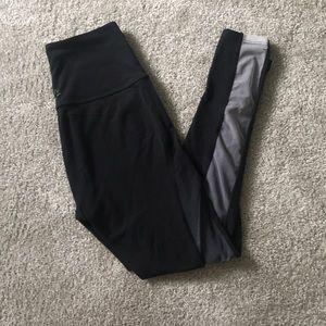 Beyond yoga ombré mesh workout pants